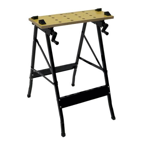 foldable work bench folding foldable trestle work bench workbench portable