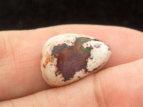 mexican agate 6 7ct 6 7ct mexican opal matrix cabochon pear
