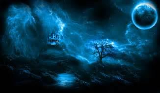 haunted house desktop wallpaper free download