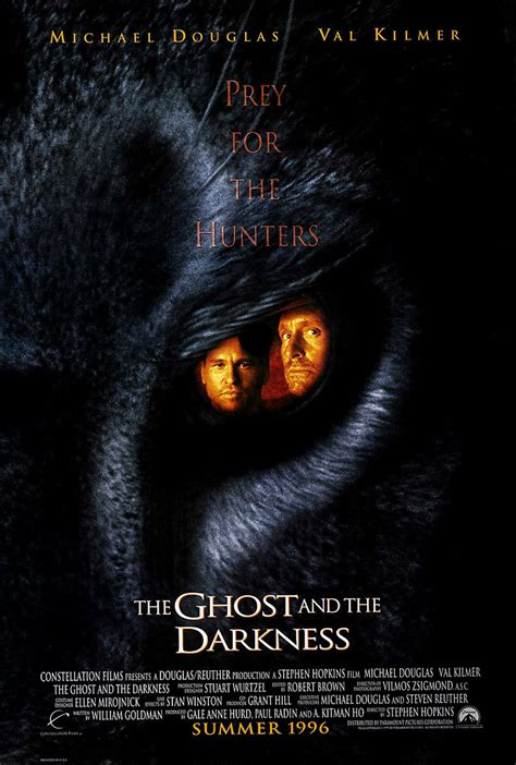 film ghost in the darkness the ghost and the darkness dvd release date