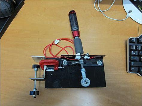 costruire volante pc costruzione freno a mano per il g27 playseat