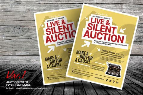 Silent Auction Catalog Template Best And Professional Templates Auction Catalog Template Free