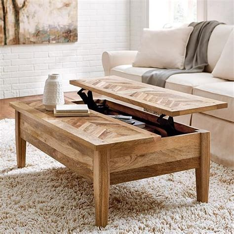 wood coffee table with storage best 25 coffee table with storage ideas only on