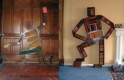 mensole strane decoraci 243 n de interiores libreros creativos