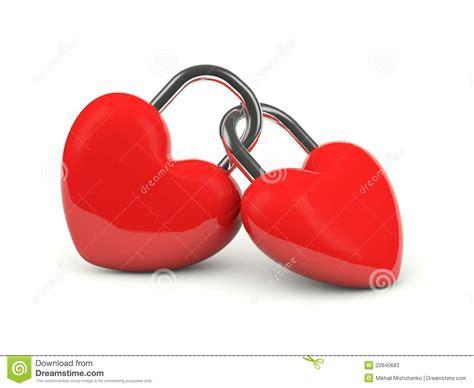 imagenes de dos corazones juntos dos corazones bloqueados juntos fotos de archivo imagen