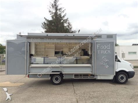 Used Mercedes Trucks by Used Mercedes Sprinter Quot Food Truck Quot Gastro Truck