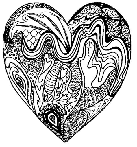 coloring pages for adults s day 33 m 225 ndalas para colorear de corazones mandalas para