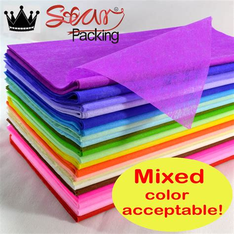Material For Paper - free shipping on sale mixed solid color tissue paper