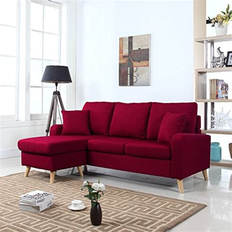 mid century sofa with chaise product reviews buy mid century modern linen fabric