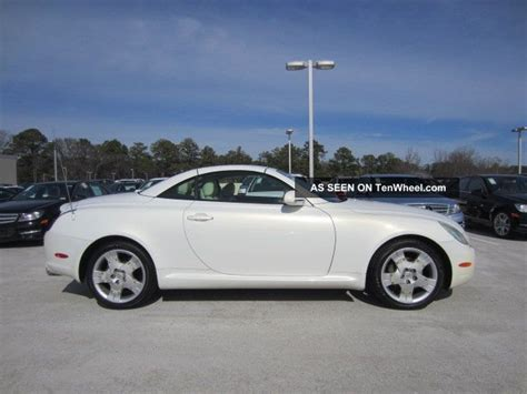 lexus convertible 2004 2004 lexus sc430 convertible 4 3l