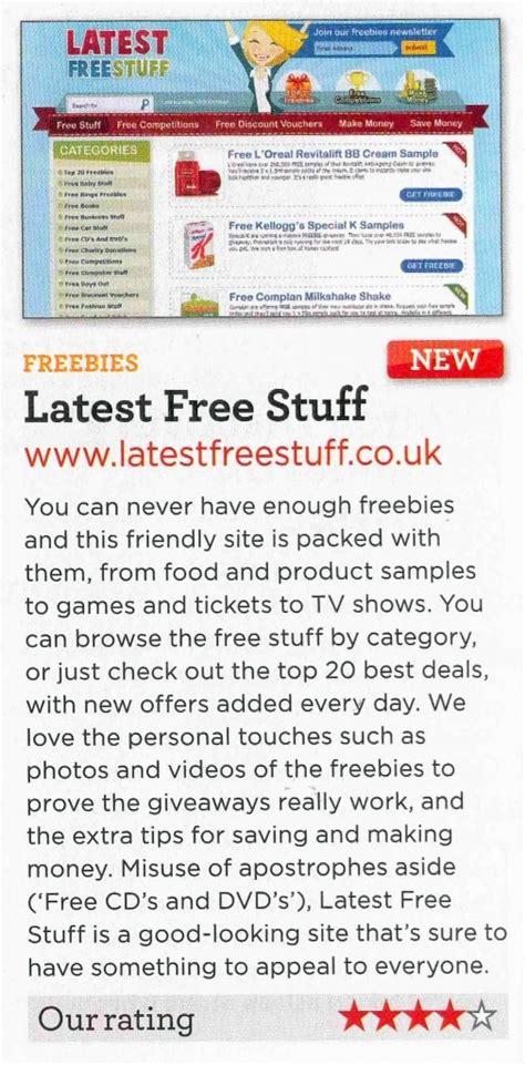 press coverage latestfreestuff co uk