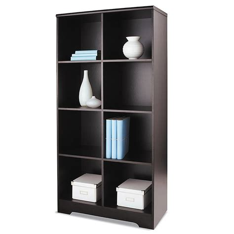 office depot bookshelves realspace magellan 8 cube bookcase 63 38 h x 30 18 w x 15 58 d espresso by office depot record