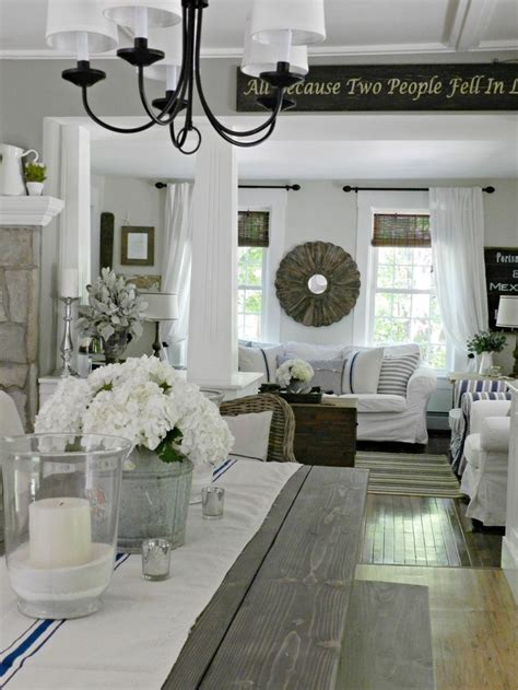 farmhouse style home decor 12 best images about home dining room on pinterest