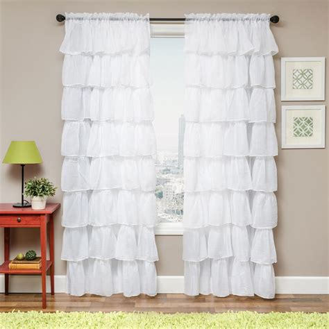 layering curtains with sheer sasha layered sheer curtain drapery panels