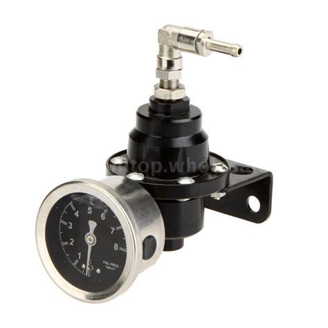 Pressure Fuel Pengukur Tekanan Fuel car auto adjustable fuel pressure regulator with filled