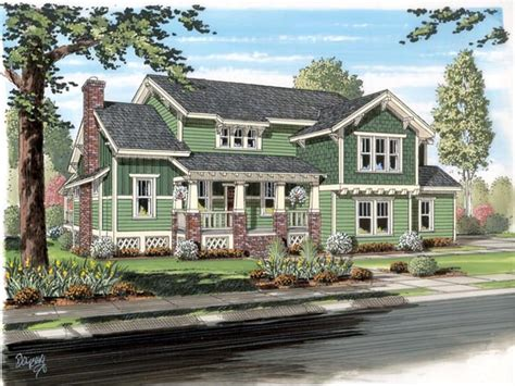 traditional craftsman house plans traditional craftsman bungalow cottage house plan