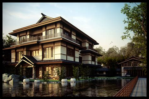 japan traditional home design there is no plan for this home that i can find modern