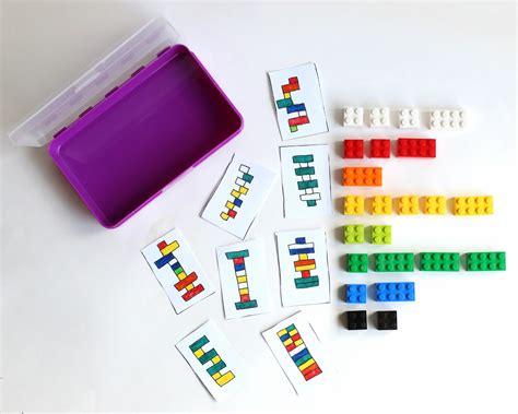 printable card kits diy portable lego kit with 24 free printable activity cards