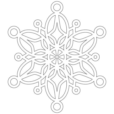 Free Printable Snowflake Coloring Pages For Kids Snowflakes Printable Coloring Pages