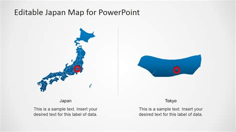 powerpoint map template japan map template for powerpoint slidemodel