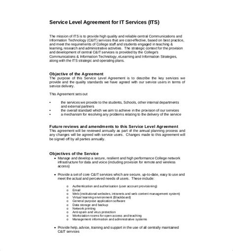 service agreement templates word  apple pages google docs  premium templates