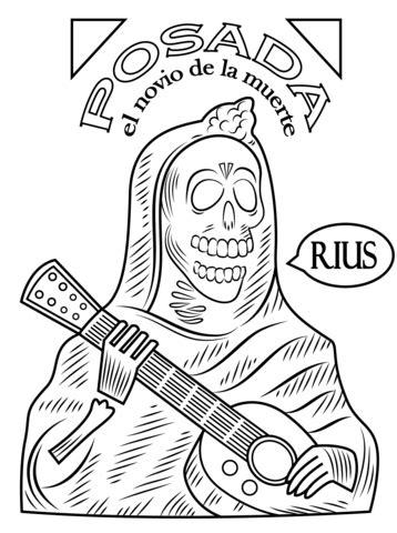 imagenes para colorear ofrendas dia muertos dibujos de calaveras de dia de muertos para imprimir