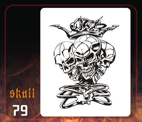 airbrush skull templates skull airbrush stencils airbrushing