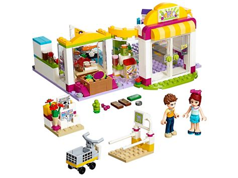 Lego 41118 Friends Heartlake Supermarket 1 heartlake supermarket lego shop