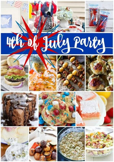 this is your ultimate 4th ultimate 4th of july menu meal plan for crust