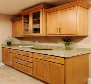 oak kitchen cabinet pictures and ideas