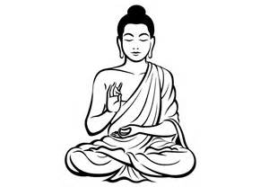 Wall Stickers And Decals buddha wall decals meditating bhuddist god