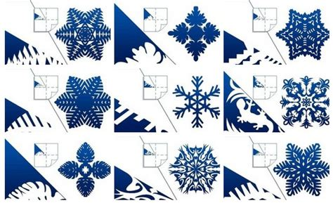 How To Make Pretty Paper Snowflakes - how to diy pretty kirigami snowflakes free template