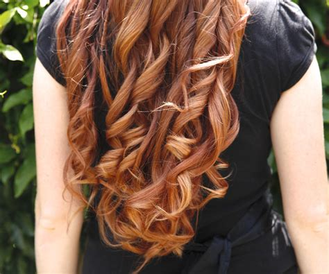 this month curling your hair just got a makeover see how to curl your hair with a flat iron 5 steps with