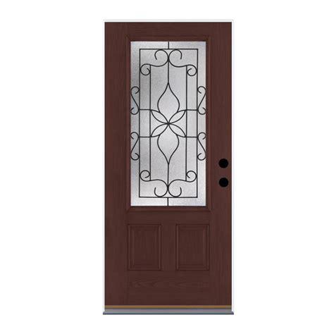 Shop Therma Tru Benchmark Doors Florentino 2 Panel Therma Tru Exterior Doors