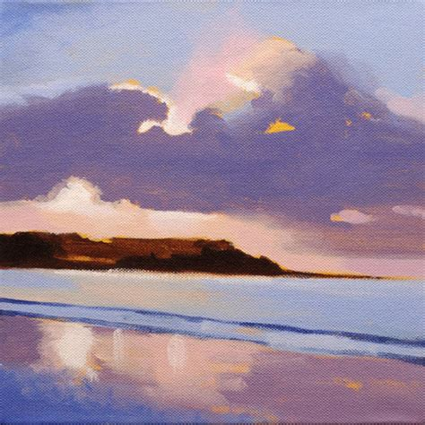 watercolor tutorial seascape let s make a painting acrylic seascape lesson for an