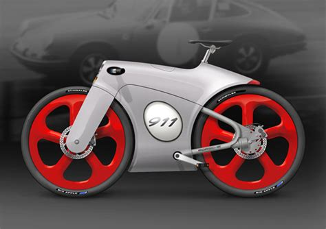 bike porsche the porsche 911 bicycle faster than a speeding bullet