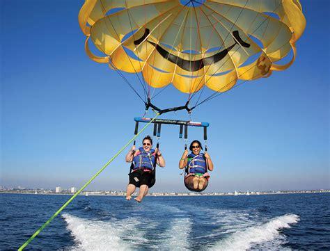 la parasailing kayaking paddle boarding jet skiing in - Marina Del Rey Parasailing Boat Rentals