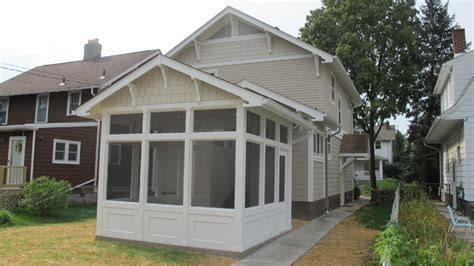 garage with screened porch craftsman style screened porch and garage craftsman