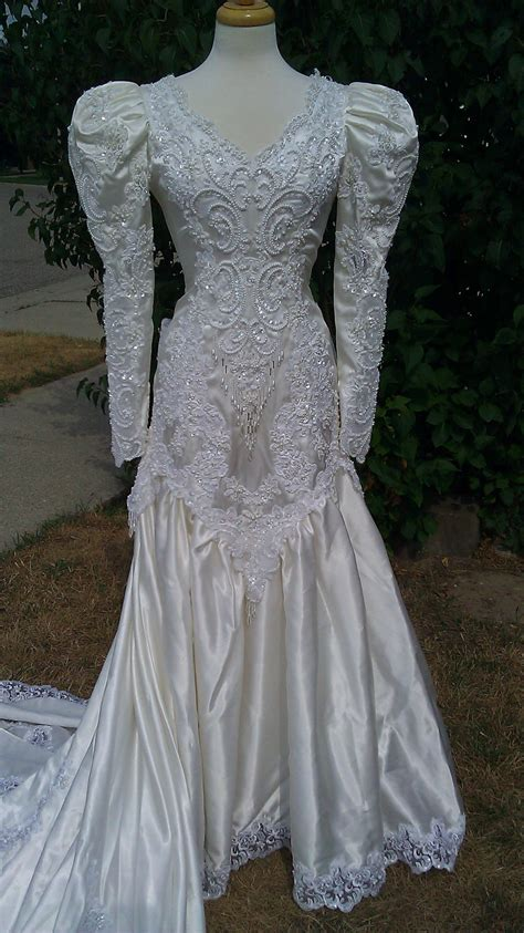 Brautkleider 80er Stil by Vintage Wedding Dresses 1920 S 1980 S