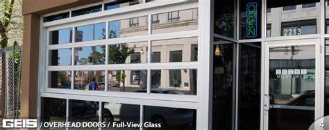 Glass Garage Doors Commercial View Glass Overhead Doors Geis Garage Doors Milwaukee Southeastern Wisconsin S