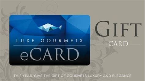 Gift Card Recipient - send a gift card luxe gourmetssend an e gift card luxe gourmetssend gift cards to