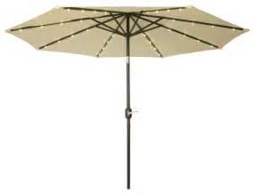 lighted patio umbrella deluxe solar powered led lighted patio umbrella 9