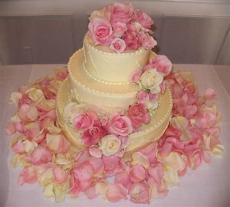 como decorar pasteles con rosas decoraci 243 n de tortas para boda con flores