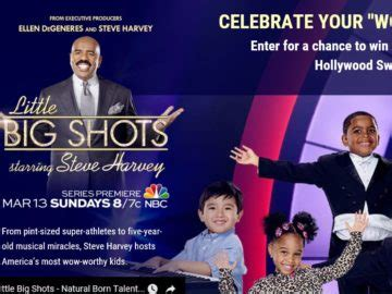 Nbc Sports Sweepstakes - nbc little big shots hollywood sweepstakes