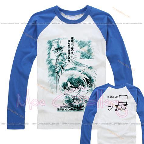 Tshirt Detective Conan 6 closed detective conan kaito phantom thief kid t