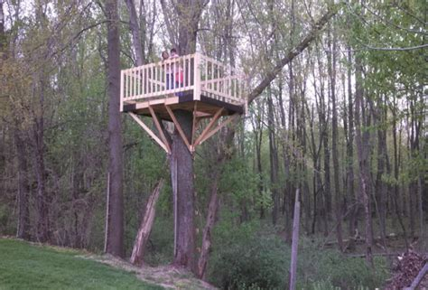 how to build a tree house how to build a simple treehouse step by step