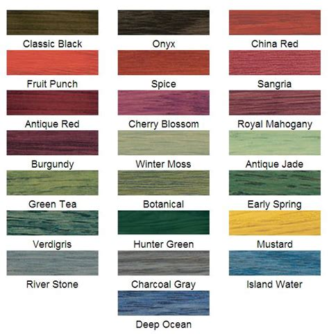 minwax water based stain colors charcoal gray from these minwax solid color stains water