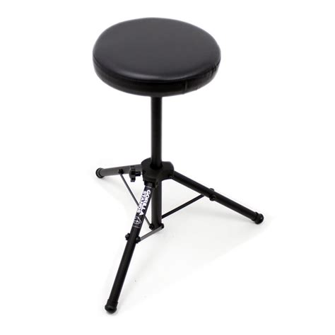 Percussion Stool by Gorilla Drum Kit Stool Throne Padded Seat Stand Band