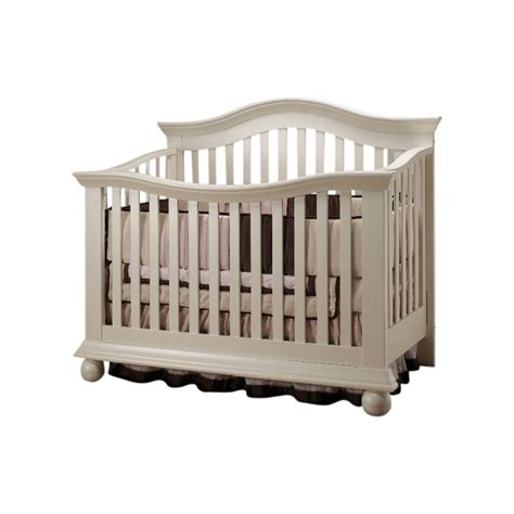 White Baby Cribs Sorelle Vista Couture Baby Crib In White 285 Fw