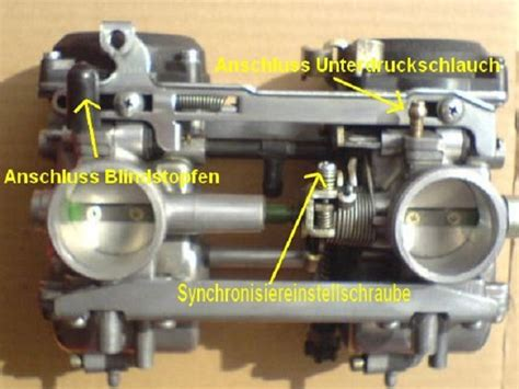 Motorrad Richtig Drosseln by Anleitung Zum Vergaser Synchronisieren Druckversion